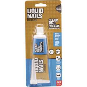 Liquid Nails LN-207 Small Projects 4 oz. Clear Interior Small Projects Adhesive