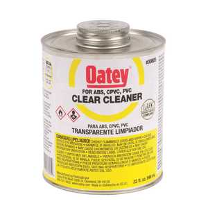 Oatey 308053 32 oz. PVC All-Purpose Pipe and Fitting Cleaner