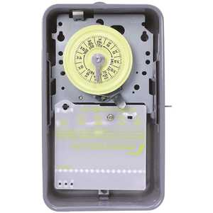 Intermatic T101RD89 T101R Series 40 Amp 125-Volt 24-Hour SPST Mechanical Time Switch with Outdoor Enclosure