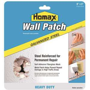 Homax 5508 Galvanized Steel Heavy-Duty Wall Patch