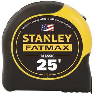 Stanley 33-725Y 25 ft. FATMAX Tape Measure