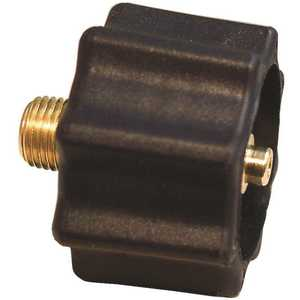 MEC ME517 QCC Connector 1-5/16 in. F-ASME x 1/4 in. MNPT with Express Flow 100,000 BTU