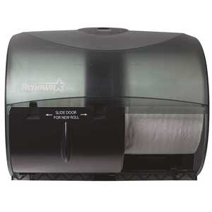 Renown REN05162-WB Black for OptiCore Side by Side Toilet Paper Dispenser