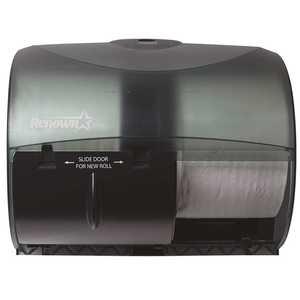 Black for OptiCore Side by Side Toilet Paper Dispenser