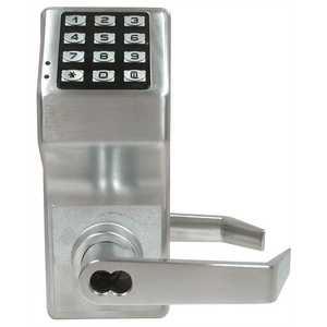 Alarm Lock DL2700IC/26D-C T2 TRILOGY DL2700 SERIES 100 USERS DULL CHROME IC CORE