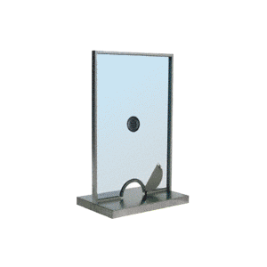 Satin Anodized Ticket Window Unit