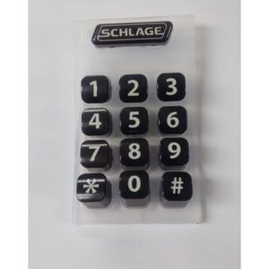 Schlage Electronics 44487247 Keypad Membrane for CO Locks