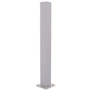 "CRL D990A12E Satin Anodized 12"" End Design Series Partition Post"