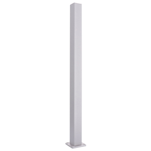 "CRL D990A18E Satin Anodized 18"" End Design Series Partition Post"
