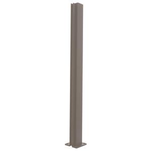 "CRL D990DU18C Duranodic Bronze 18"" Center Design Series Partition Post"
