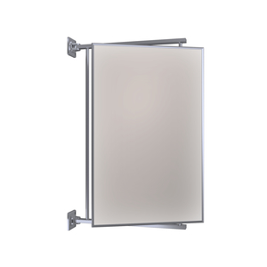"CRL PV14CH Polished Chrome 14"" x 22"" Pivot-N-Vue Double Hinged Mirror"