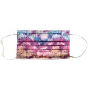 Planet Earth Eyewear MASK-AP04-10 Planet Earth Disposable Adult Face Mask, Tie Dye - pack of 10