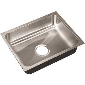 18-Gauge Stainless Steel 16 in. O.D. x 20 in. x 5.5 in. DCR Single Bowl ADA Compliant Undermount Sink