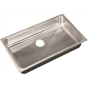 JUST MANUFACTURING US-ADA-1830-A-5-5-DCR 18-Gauge Stainless Steel 30 in. x 18 in. x 5.5 in. DCR Single Bowl ADA Compliant Undermount Sink