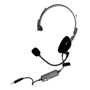 Norcon Technologies, Inc TTUNCHS Two-Way Communication Headset Black Wired With Noice Cancellation