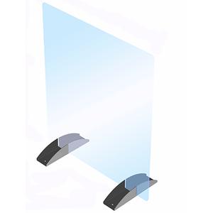 CRL PS2432NN Portable Acrylic Shield, 24 (610 mm) W x 32 (813 mm) H