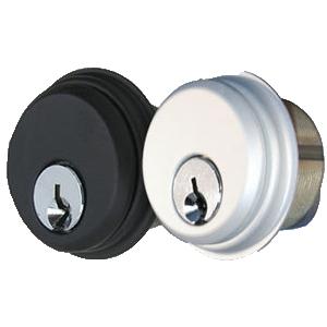 International Door Closers CZ-1001-1222 International Storefront Door Mortise Key Cylinder Lock- Pair- CZ 1001 Anodized Bronze