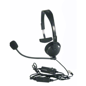 Norcon TTU1HS Headset for Two-Way Electronic Communicators