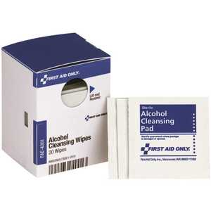 SMARTCOMPLIANCE FAE-4001-001 Alcohol Wipes Refill - pack of 20