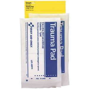 SMARTCOMPLIANCE FAE-6024 5 in. x 9 in. Trauma Pads Refill - pack of 2