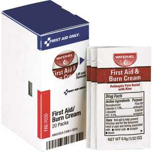SMARTCOMPLIANCE FAE-7030 First Aid Burn Cream Packets Refill