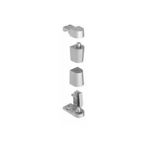 CRL 0P70LHA Aluminum Offset Left Hand 0P70 Series Pivot Set