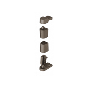 CRL 0P70RHDU Dark Bronze Offset Right Hand 0P70 Series Pivot Set