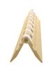 CRL 12AHBG Brite Gold Acrylic Continuous Hinge