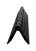 CRL 12AHBL Black Acrylic Continuous Hinge