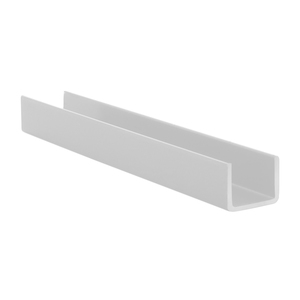 """CRL 3601A Satin Anodized Series 3601 Side Jamb Channel - 144"""" Stock Length"""