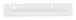 "CRL D636P Polished 1/4"" Standard Aluminum J-Channel - 144"" Stock Length"