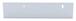 "CRL D645A Satin Anodized 1/4"" Deep Nose Aluminum J-Channel - 144"" Stock Length"