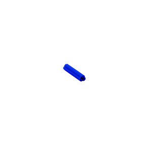 "CRL EXP2010-XCP100 CRL 5/16"" Hole, 1-1/2"" Length 14 or 1/4"" Screw Expanding Plastic Blue Screw Anchors - pack of 100"