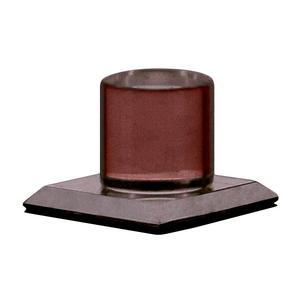 CRL MKB2 Bronze Acrylic Stick-On Mirror Knob