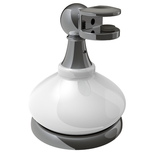 CRL MP6208BN Porcelain and Brushed Nickel Mirror Pivots