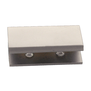 CRL NDC4PN Polished Nickel No-Drill Fixed Panel Glass Clamp
