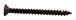 "CRL P1020RB Oil Rubbed Bronze 10 x 2"" Wall Mounting Flat Head Phillips Sheet Metal Screws"