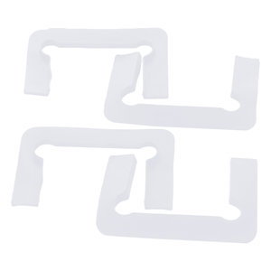 CRL P1NGASKCLR Clear Gasket Replacement Kit for Pinnacle Hinges