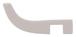 CRL S0RH1PN Polished Nickel Designer Series Sleeve-Over Robe Hook