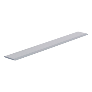 "CRL S625P Polished Aluminum 5/8"" Flat Face Mirror Edge Molding - 144"" Stock Length"