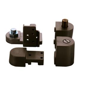 CRL 0P70LHDU Dark Bronze Offset Left Hand 0P70 Series Pivot Set
