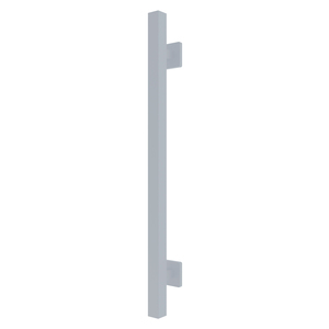 """CRL GBD18BS Brushed Stainless Straight 18"""" Square Grab Bar"""