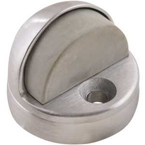 Universal Hardware UH40074 1-3/4 in. Satin Chrome Dome Floor Stop with Riser