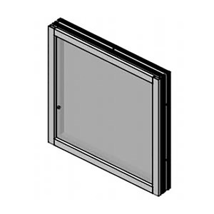 Armortex 1WFA625 Custom Extruded Aluminum Windows Frame