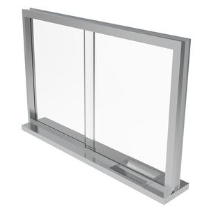 Armortex 1WSTFH Custom Windows Sliding Transaction Frame Hollow Metal