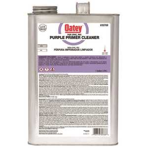 Oatey 30768 PURPLE PRIMER/CLEANER, 1 GALLON