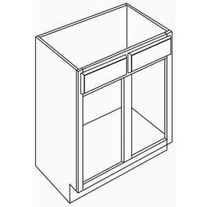 Armstrong Cabinets V24EXOAK-HAM-HONEY VANITY BASE CABINETS