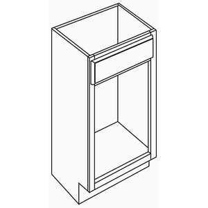 Armstrong Cabinets VSS18REXOAK-HAM-HONEY VANITY BASE CABINETS