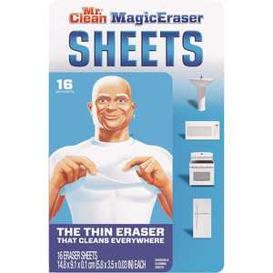 MR. CLEAN 003700090618 Thin Sheets Magic Eraser Scouring Sponge