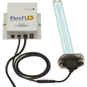 50-Watt Remote with 12 in. Germicidal Lamp with Magnetic Z-Bracket Air Purifier